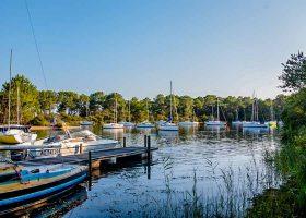 Camping bateau Gironde