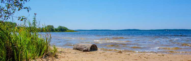 Camping bord de lac Médoc