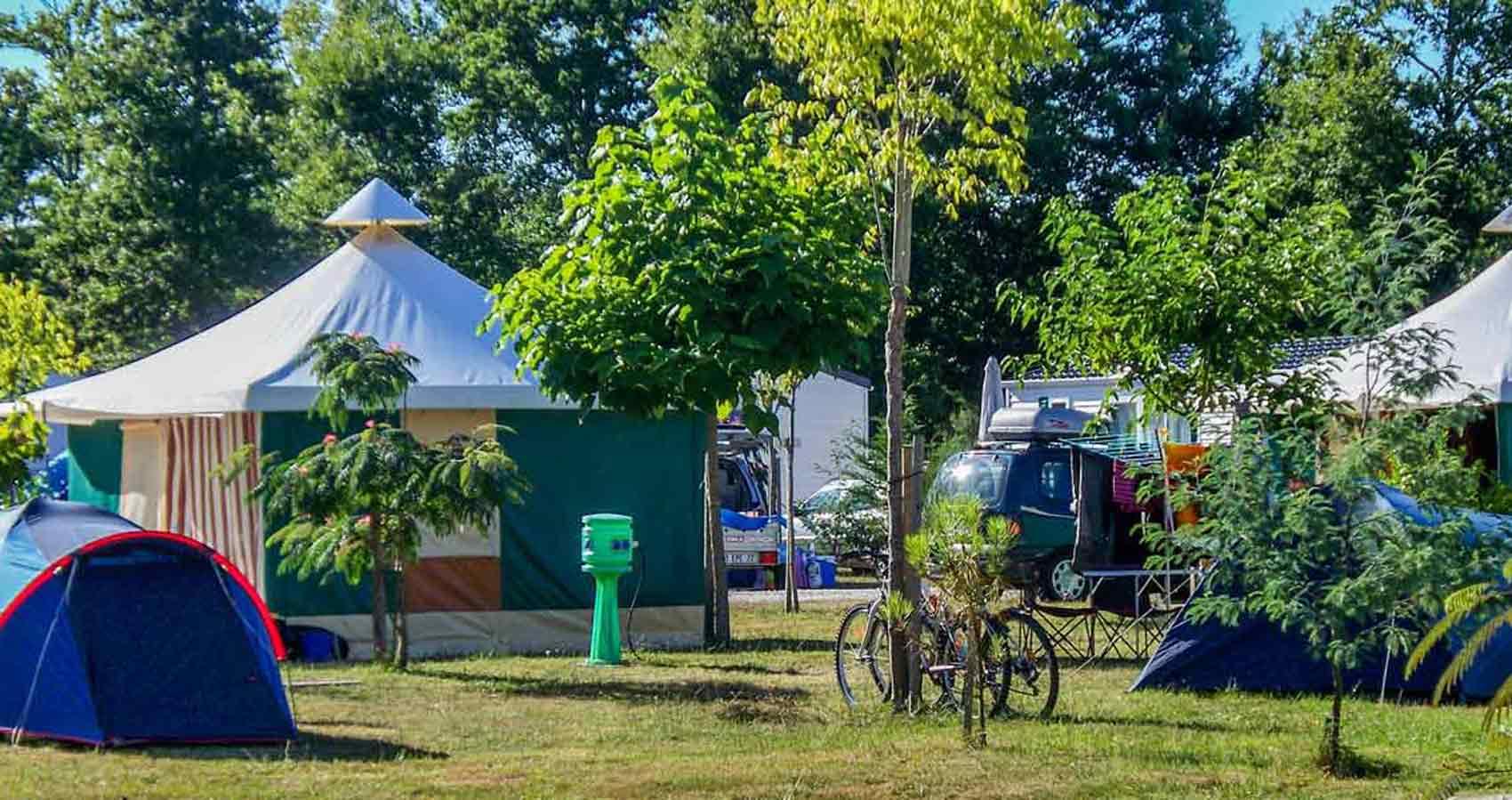 Camping caravning Médoc