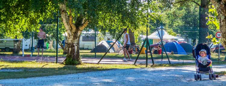 Camping familial Gironde
