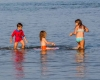 Camping familial lac Gironde