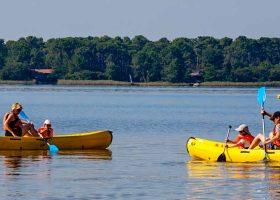 Camping Kayak Gironde