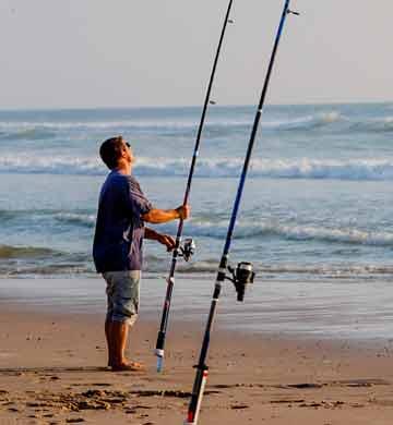 Camping pêche Gironde