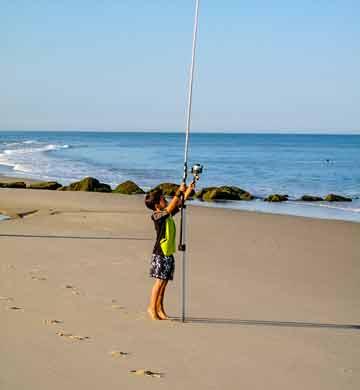 Camping pêche Hourtin