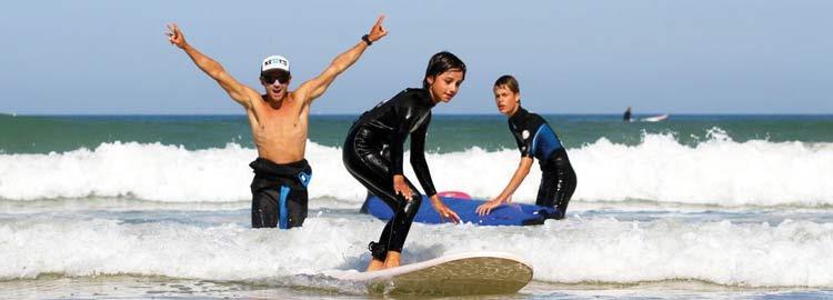 Camping surf Lacanau
