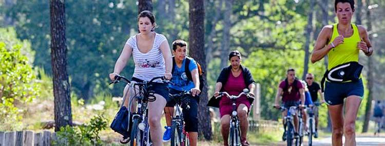 Camping vélo Médoc