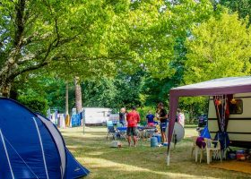Emplacement camping Lacanau