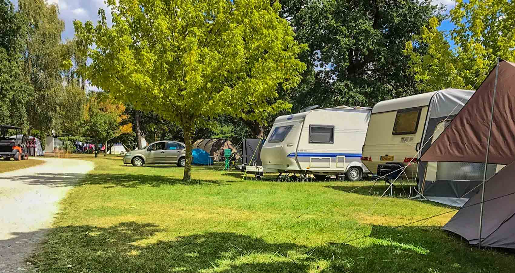Emplacement camping Médoc