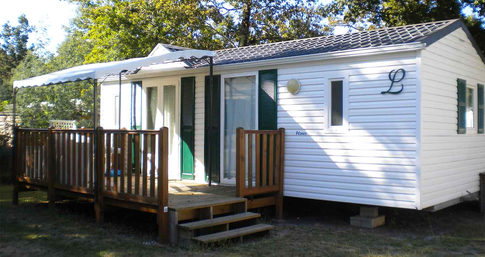 location mobil home famille Gironde