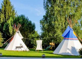 Location tipi camping Gironde