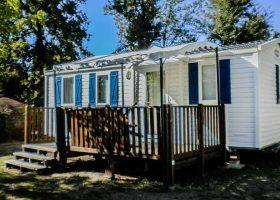 Mobil-home en location camping Gironde