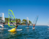 Camping Gironde planche à voile