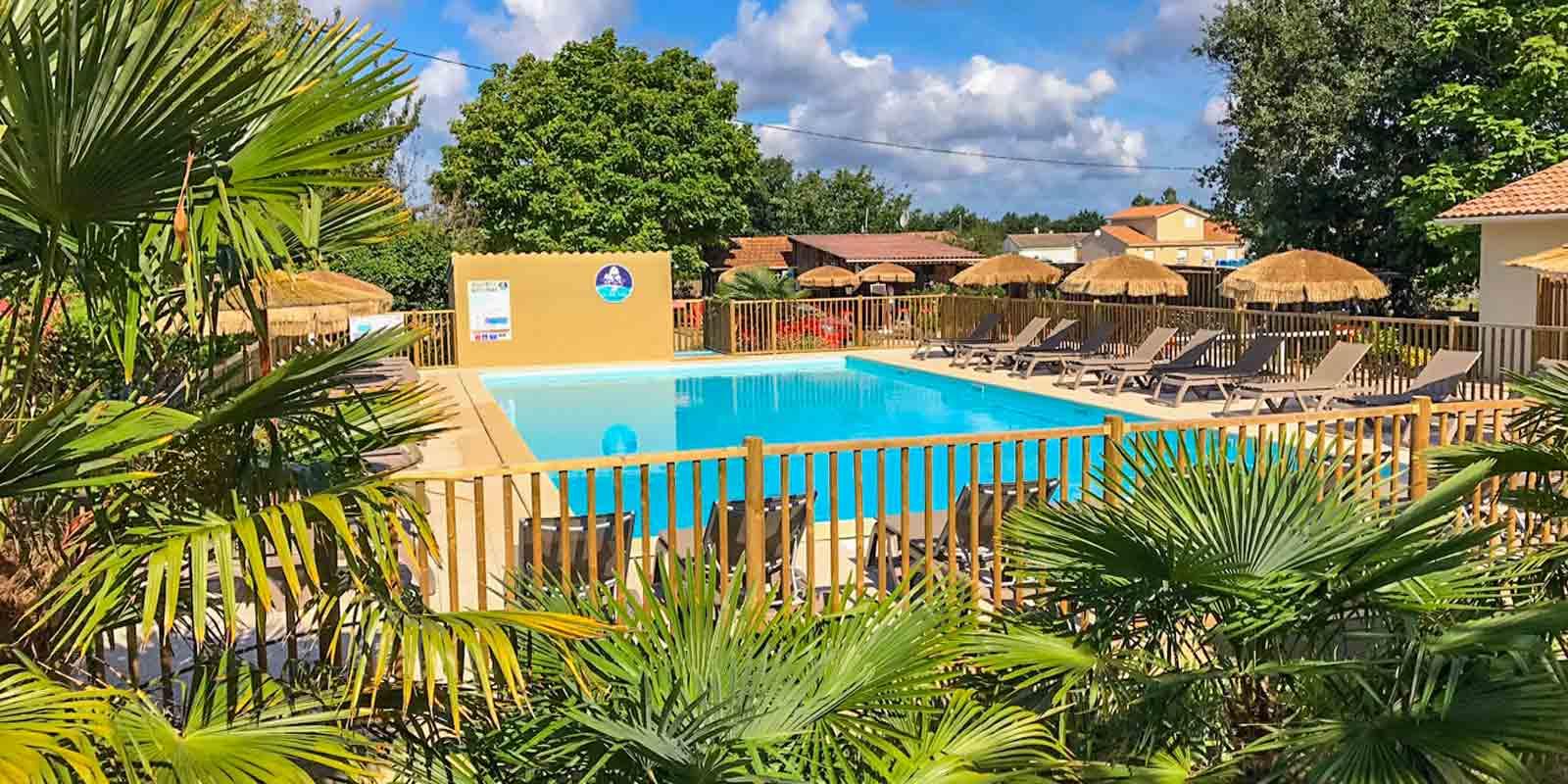 Camping Gironde avec piscine