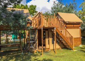 location mobil-home cabane gironde